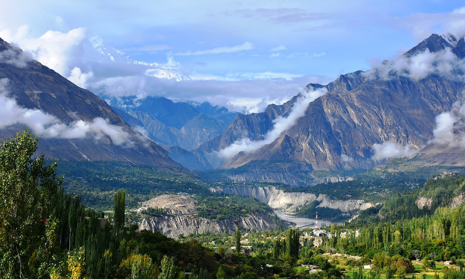 Hunza Valley. ─ Photo by Asad Aman