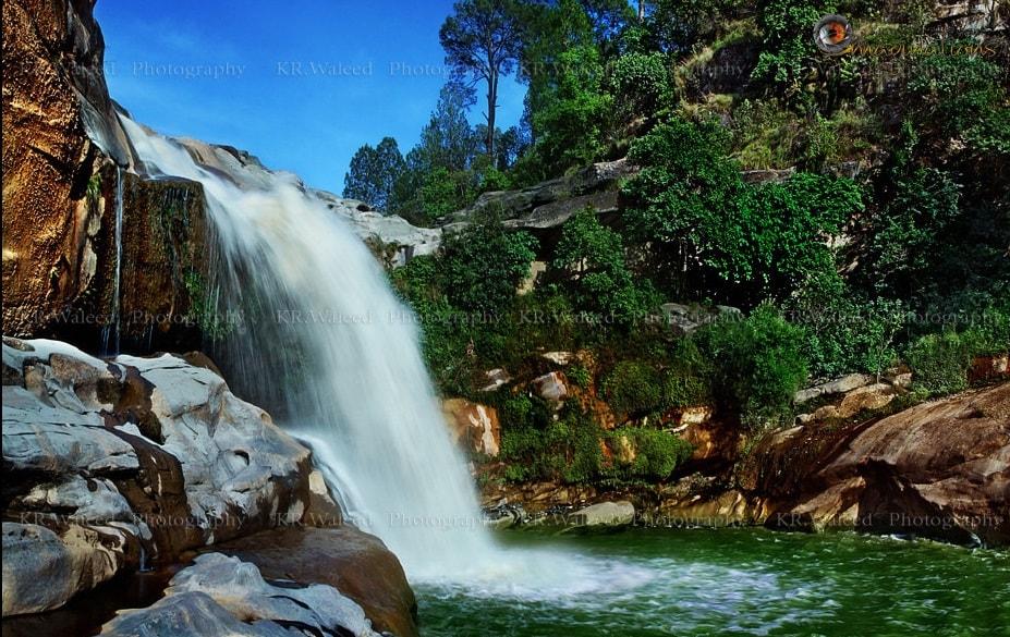 Gulpur Waterfalls Azad Kashmmir