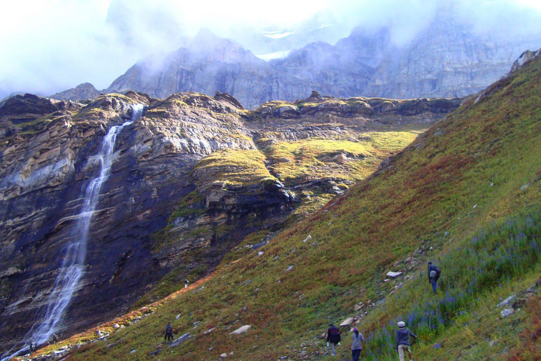 The_waterfall_on_the_way_to_Chitta_Khatta_Lake Zahra Qureshi