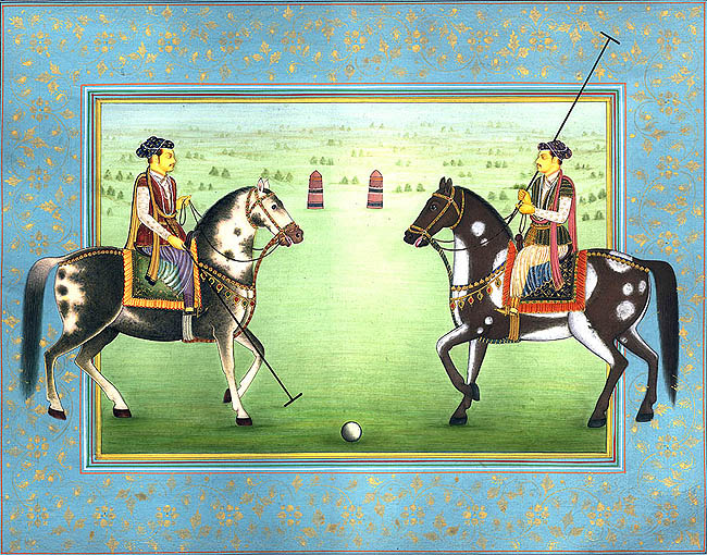 king-playing-polo