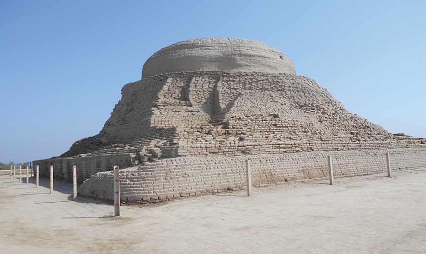 Stupa at Moenjo Daro